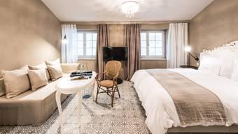 Die Hotelbetten im Kanton waren 2017 – wie hier im «La Couronne» in Solothurn – stärker gefragt als je zuvor.
