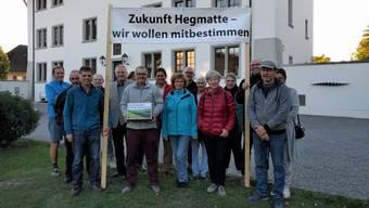 Gegner der «Hegmatte»-Überbauungspläne reichten am 22. Oktober eine Gemeindeinitiative ein.