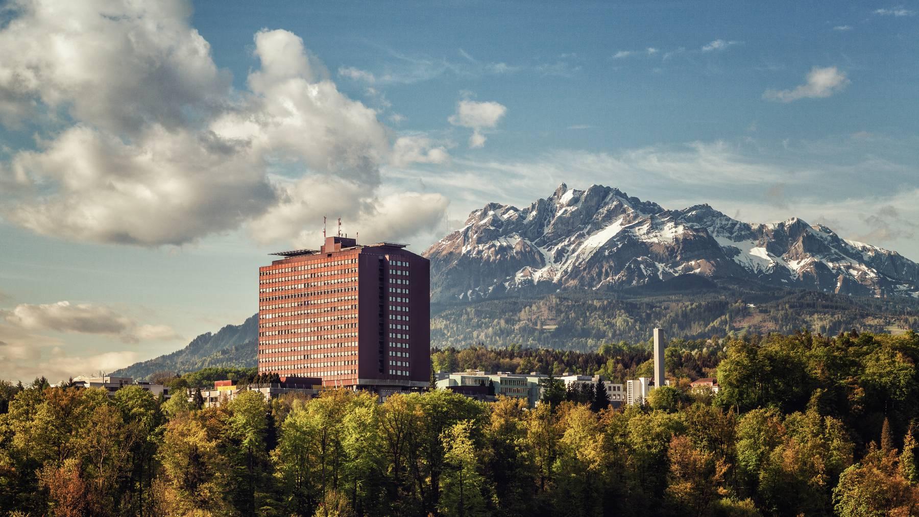 Im Luzerner Kantonsspital wurden Schutzmasken gestohlen
