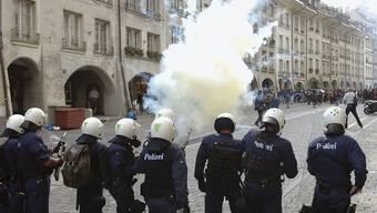 Demonstration in Bern