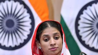 Geetas Suche nach ihrer Familie verlief bisher erfolglos. Weitere Familien haben sich aber gemeldet und erklärt, mit ihr verwandt zu sein.