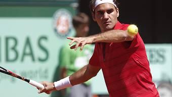 Federer zeigt gegen Lopez keine Schwächen und setzt sich in drei Sätzen durch