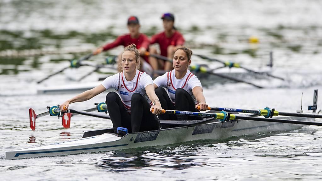 Frédérique Rol (links) und Patricia Merz überzeugten an der Olympia-Qualifikationsregatta
