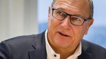 André Dosé war 2001 der erste Swiss-Chef, 2004 trat er zurück.