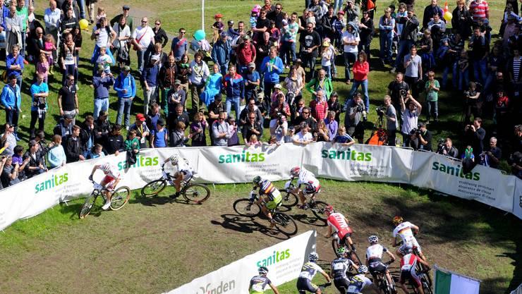 Der Schanzengraben wurde 2012 beim BMC-Cup zu einer tollen Bike-Arena.