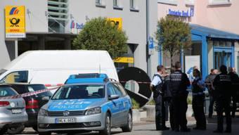 Banküberfall in Waldshut am 21. April 2017