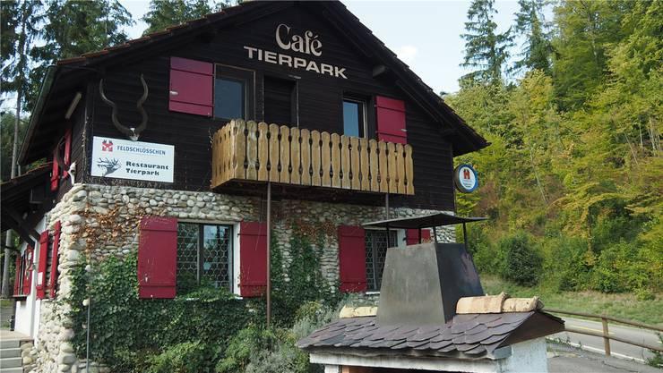 Das Restaurant Tierpark befindet sich in neuen Händen. Wie es mit dem Tierpark weitergeht, soll sich in Kürze klären.