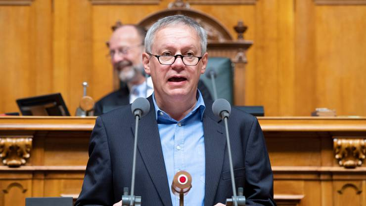 Er argumentierte mit Jesus: Nationalrat Pierre-Alain Fridez (SP/JU).