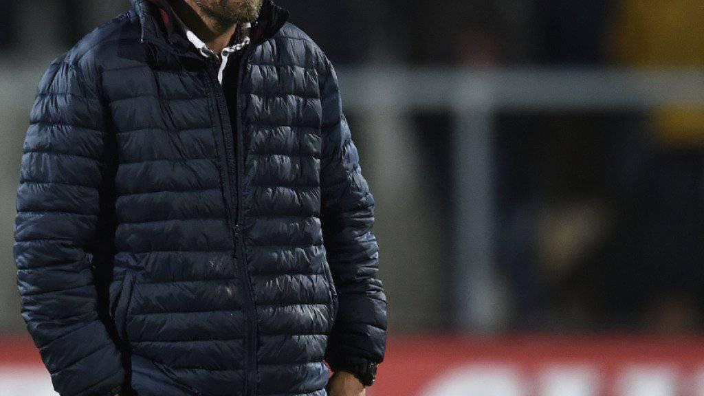 Jürgen Seeberger muss kurz vor Ende der Hinrunde in Winterthur gehen