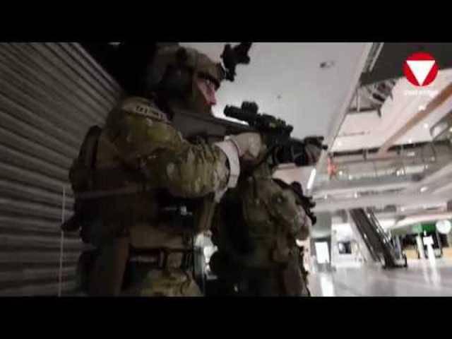 Spezialeinsatzkräfte übten Anti-Terror-Einsatz