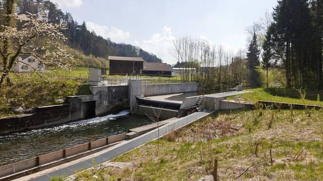 Kleinwasserkraftwerk im Kanton Thurgau (Archiv)