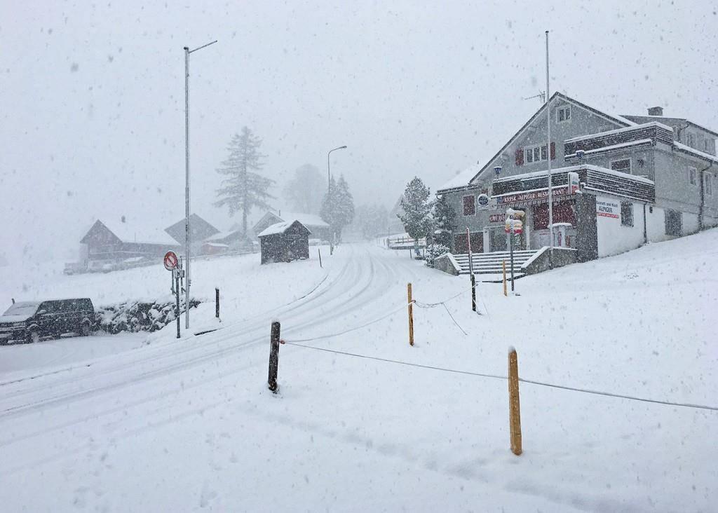 Die Bergbahnen Wildhaus posteten dieses Foto auf Facebook. (© Tagblatt/Leser)