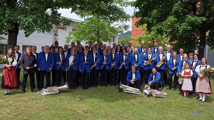 Die Harmonie am Bernischen Kantonal-Musikfest in Thun 2019