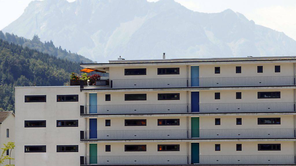 In Ebikon LU ist die Zahl freier Wohnungen tiefer als angenommen. (Archivbild)