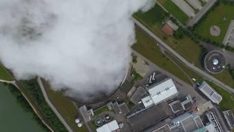 Drohnen-Flug über das Kernkraftwerk Leibstadt: Wie viel Radioaktivität ist hier entwichen?