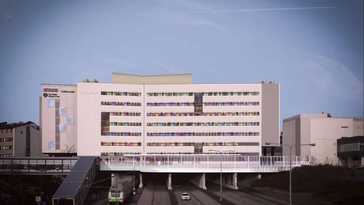 Die Eröffnung des neuen Spitalgebäudes in Turku soll Anfang 2022 erfolgen.