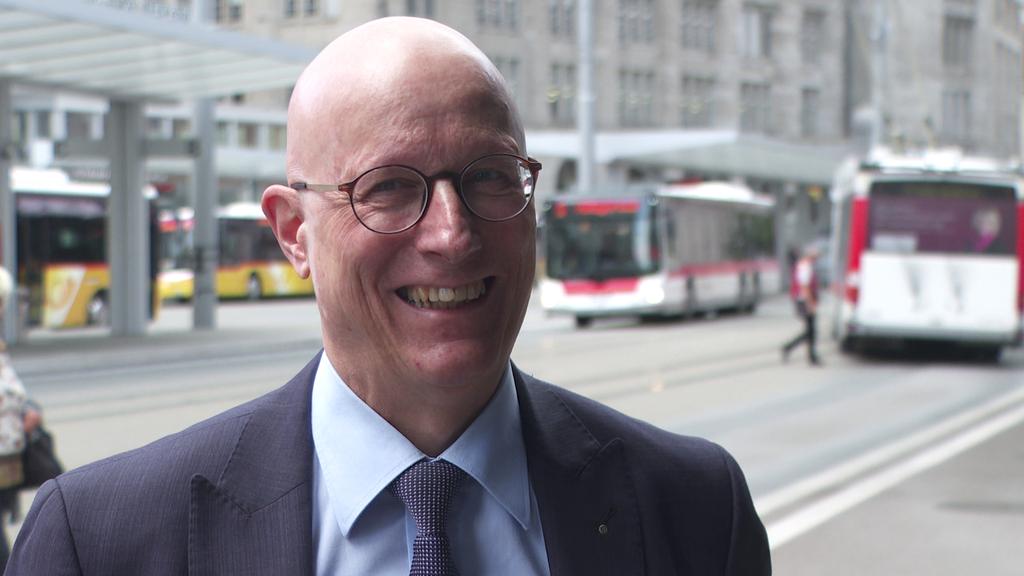 Ralf Eigenmann, Unternehmensleiter Verkehrsbetriebe St.Gallen