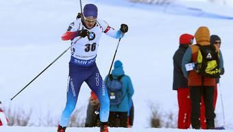 Jeremy Finello läuft beim Sprint in Nove Mesto auf den 25. Platz