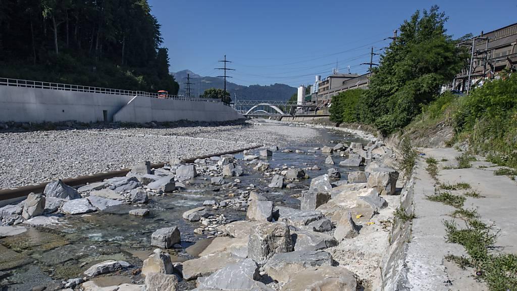 Kantonsregierung will Projektstau bei Hochwasserschutz abarbeiten