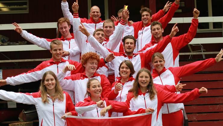 Das Schweizer Team.
