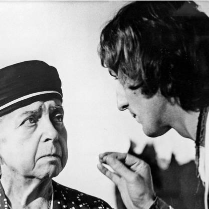 1933 wurde in München das legendäre Kabarett «Die Pfeffermühle» mit Therese Giehse gegründet.