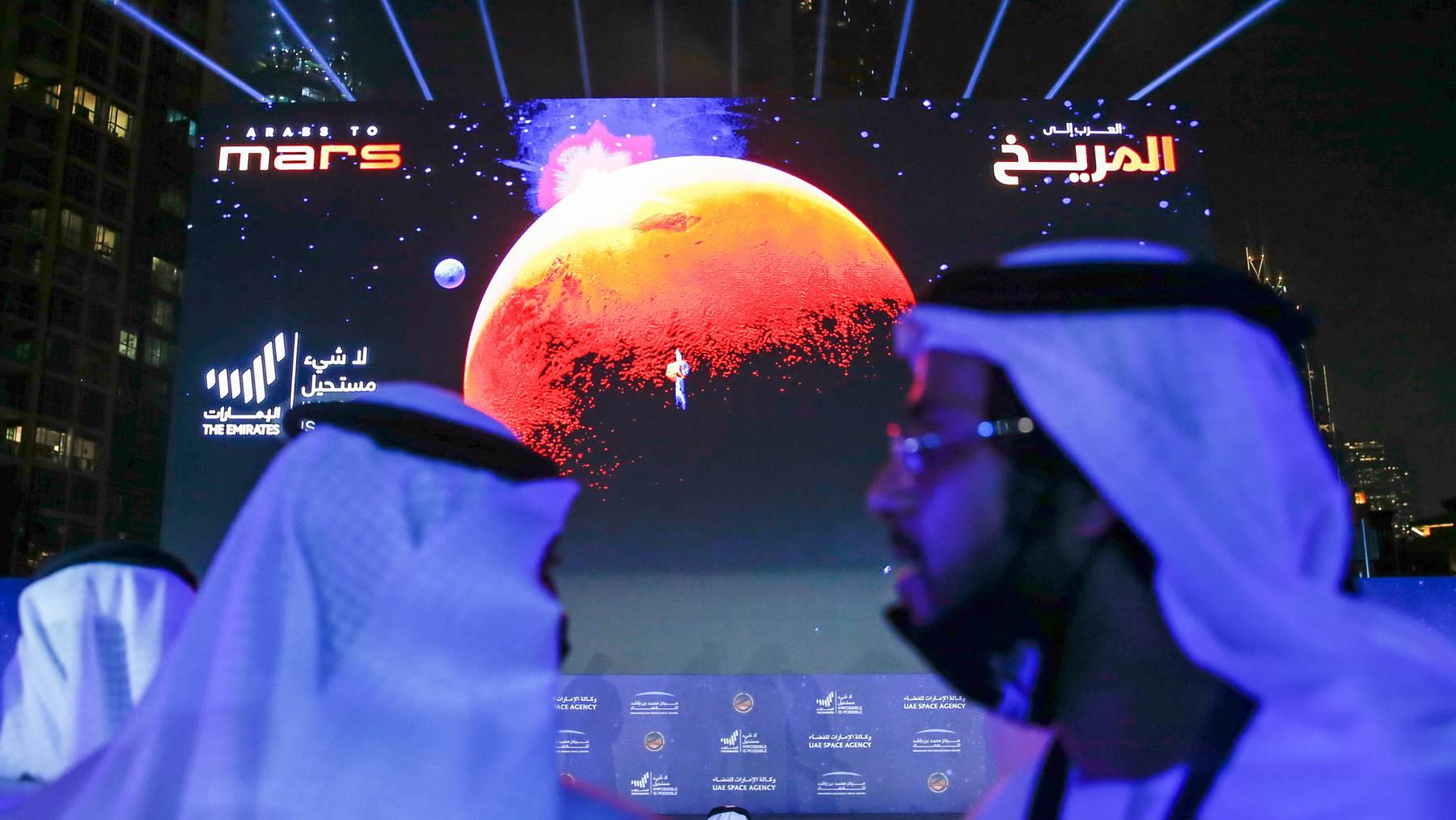 Stadt auf dem Mars Arabische Emirate