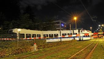 Unfall mit Glattalbahn bei Wallisellen