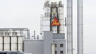 Hier will Saint-Gobain das Sagen haben: Sika-Fabrik in Duedingen