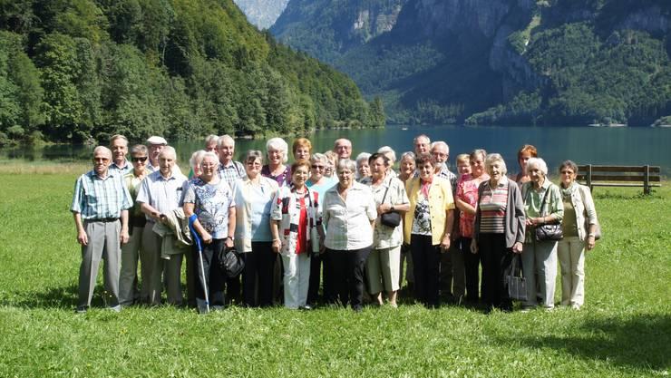 Seniorenturner mit Gästen