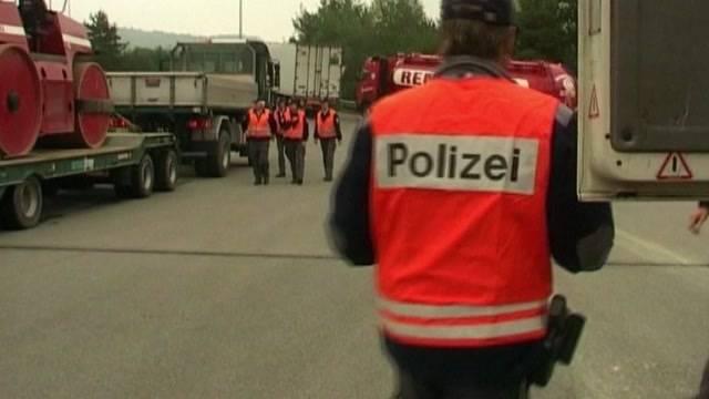 Warnung vor Polizei-Kontrolle