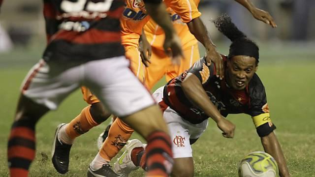 """Ronaldinho war sich auch für """"Bodenarbeit"""" nicht zu schade"""