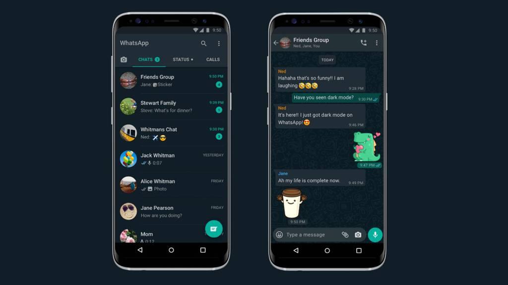 Dark Mode Whatsapp Upload24