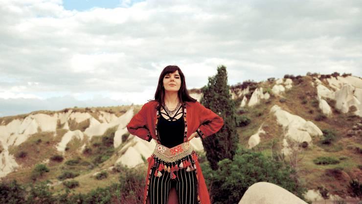 Die türkische Sängerin Gaye Su Akyol.