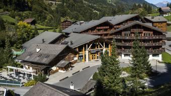 Die Auktion des bankrotten Thermalbads Val d'Illiez im Unterwallis fällt ins Wasser. Grund ist das verschachtelte Firmenkonstrukt. (Archivbild)