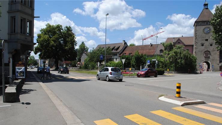 Für das kommende Jahr ist der Start der Sanierungsarbeiten an der K130 in Laufenburg vorgesehen. Nadine Böni