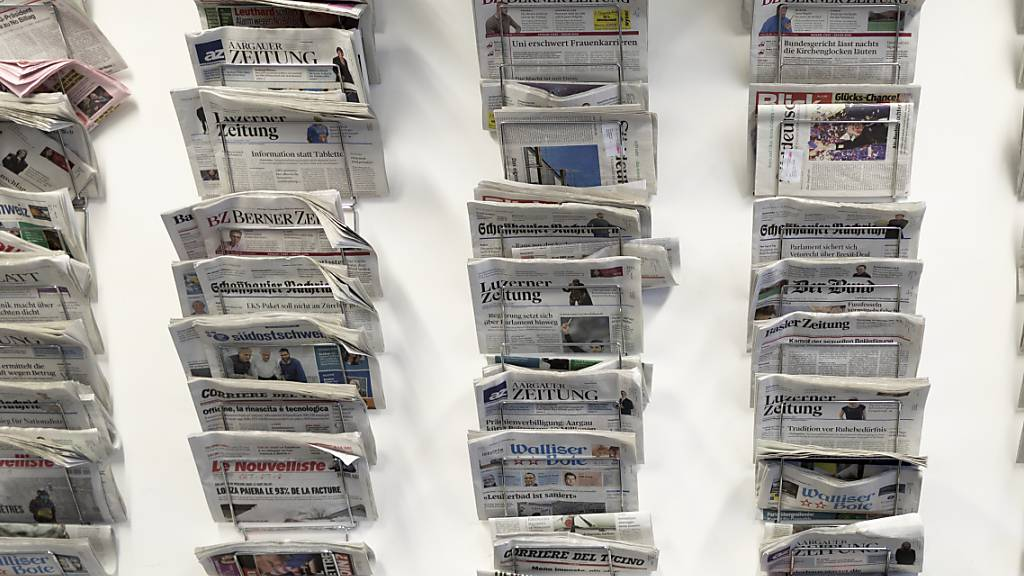 Der Ständerat will in der Bundesverfassung verankern, dass auch die gedruckte Presse von einer direkten staatlichen Förderung profitieren könnte. (Archivbild)