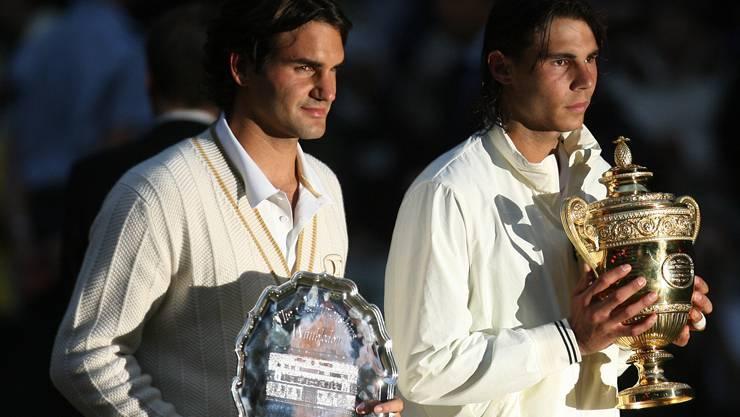 Die Mutter aller Niederlagen für Roger Federer: Der Wimbledon-Final von 2008 gegen Rafael Nadal.