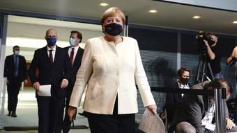 Klare Ansage der deutschen Bundeskanzlerin Angela Merkel: Bundesregierung will stärkere Massnahmen für Deutschland.