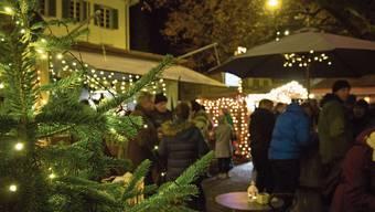 Noch heute und dann wieder vom 26. Dezember bis am 3. Januar ist der «Glüehwii-Träff» geöffnet.