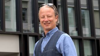 Reto Sollberger, Gründer und Präsident des Rhetorik Club Solothurn, redet über Rhetorik.