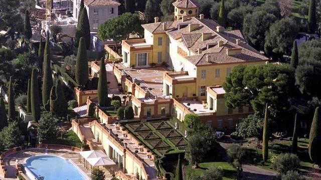 Das ehemalige Anwesen des belgischen Königs Leopold II. an der Cote d'Azur