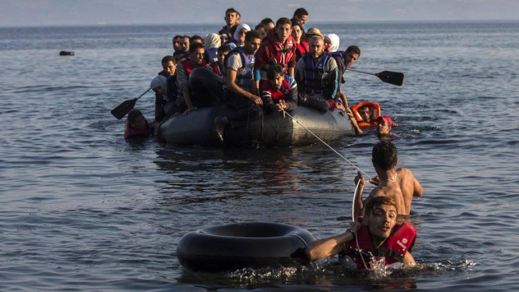 Vor der griechischen Insel Farmakonisi sind mindestens 13 Flüchtlinge ertrunken. (Archiv)