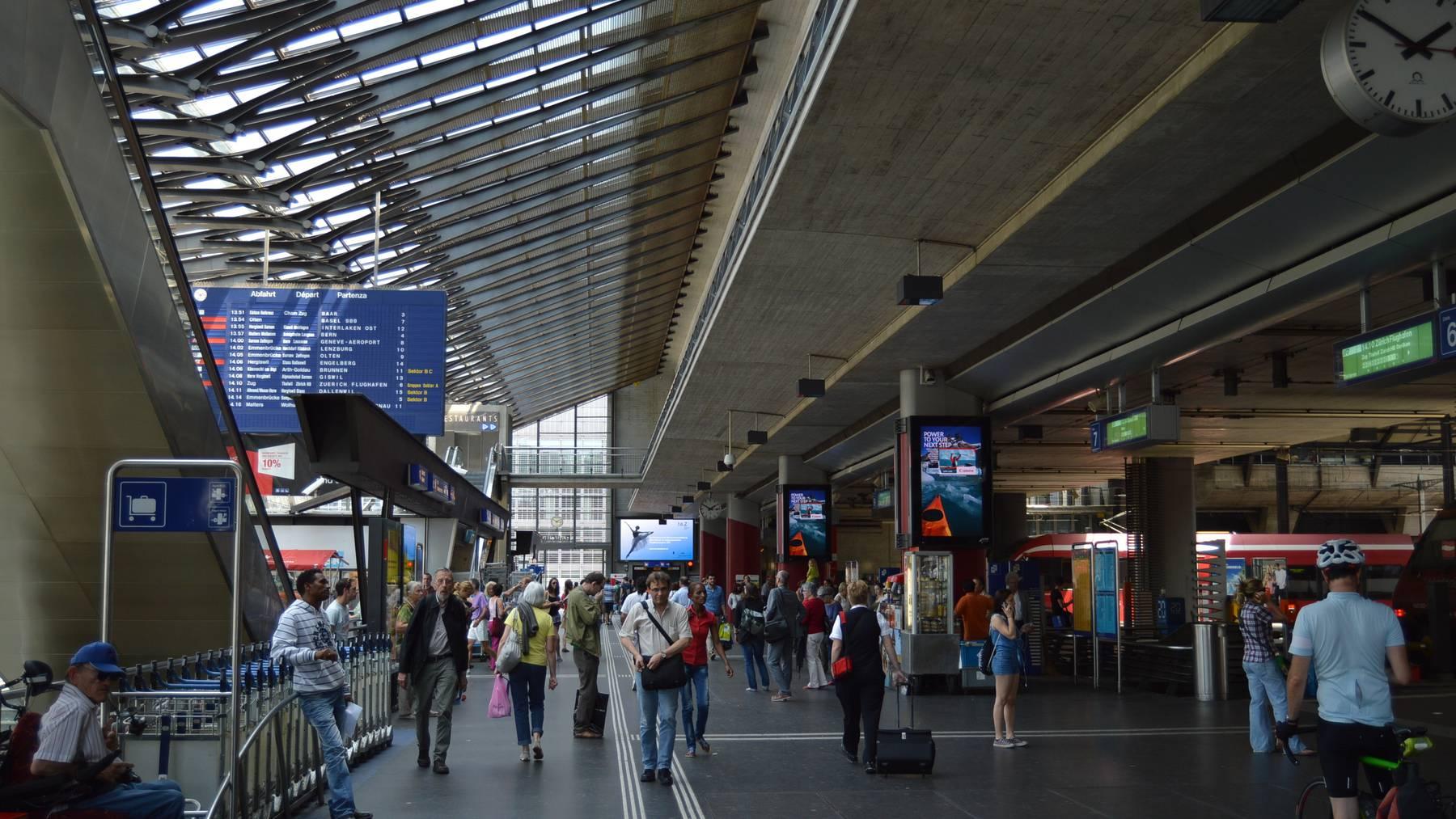 Bahnhof Luzern ab Montag früh wieder in Betrieb
