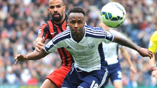Doppel-Torschütze: West Broms Saido Berahino (hier gegen QPR)