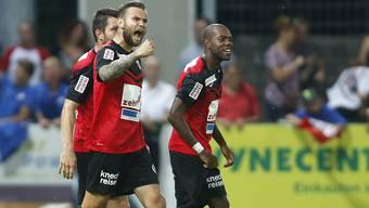 FC Aarau gegen FC Sion
