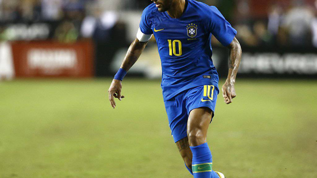 Neymar liess an seinem 27. Geburtstag nichts anbrennen