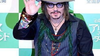 Johnny Depp in Tokyo (Archiv)