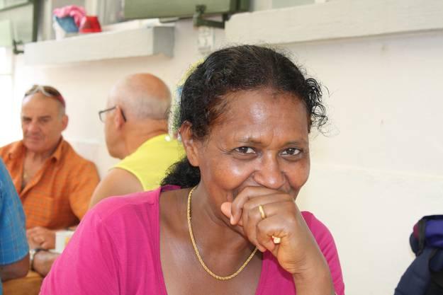 Waini aus Eritrea war zum ersten Mal auf einer Wanderung
