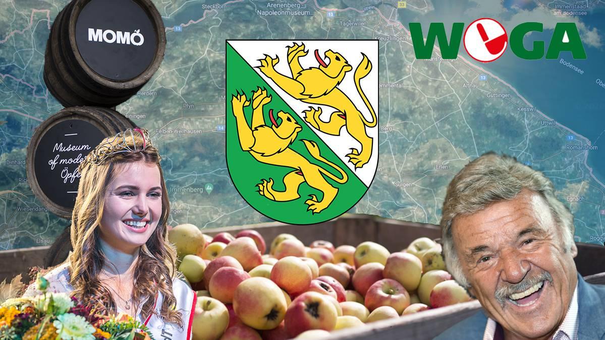 Teste dein Wissen rund um den Apfel-Kanton.