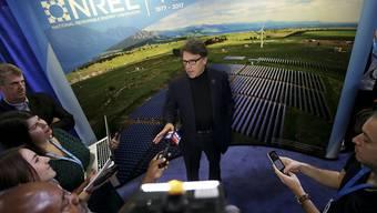 Will seinen Chef zum Umdenken in Klimafragen bewegen: US-Energieminister Rick Perry. (Archivbild)